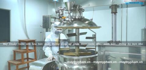 Máy nhũ hóa mỹ phẩm là gì?